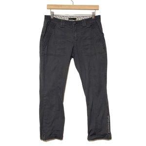 Prana Cuffed Cropped Pants